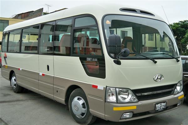 Alquiler de Coaster Vans Buses en Lima